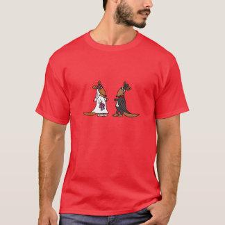 T-shirt Conception drôle de mariage de jeunes mariés de
