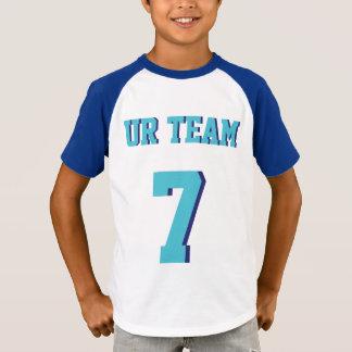 T-shirt Conception du Jersey de sports des enfants | de