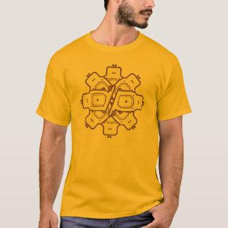 T-shirt Conception géométrique de motif