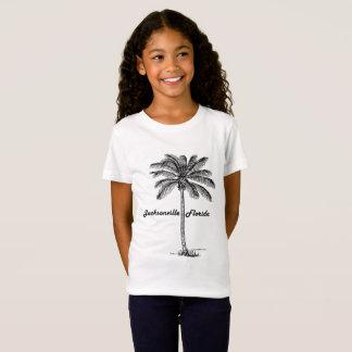 T-Shirt Conception noire et blanche de Jacksonville et de