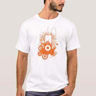 T-shirt Conception orange