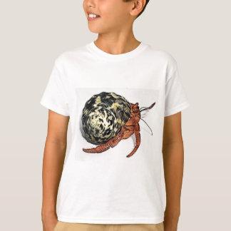 T-shirt Conception pourpre de bernard l'ermite de Pincher