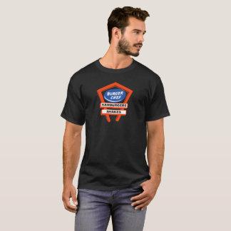 T-shirt Conception vintage de restaurant de marque de chef