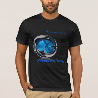 T-shirt Conception web de diadème