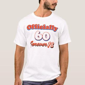 T-shirt conceptions d'anniversaire de 60 années