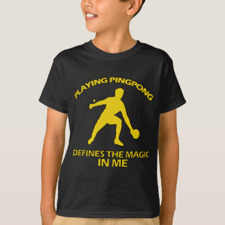T-shirt CONCEPTIONS de ping-pong