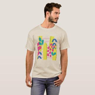 T-shirt conceptions inspirées par années 90