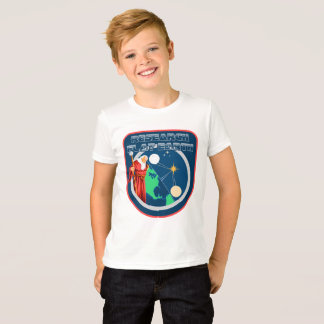 T-shirt Conceptions plates de la terre - magicien plat de