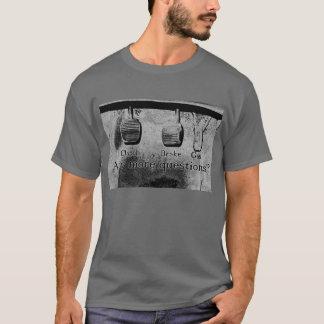 T-shirt Conduisez le bâton (noir et blanc)