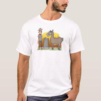 T-shirt Conduite du cheval