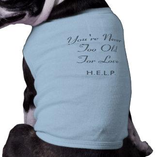 T-shirt confortable de chienchien vêtement pour chien