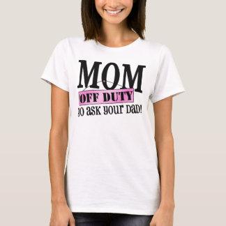 T-shirt Congé de maman