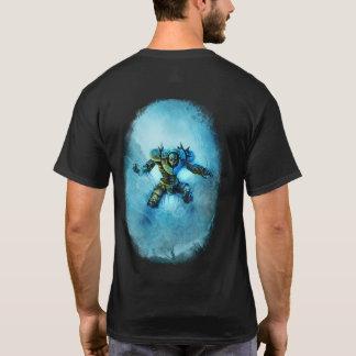 T-shirt congelé de chevalier