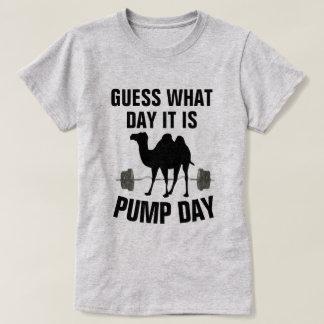 T-shirt Conjecture quel jour c'est chemise de gymnase de