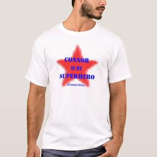 T-shirt Connor est mon SUPER HÉROS !