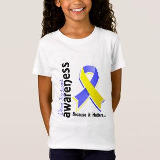 T-Shirt Conscience 5 de syndrome de Down