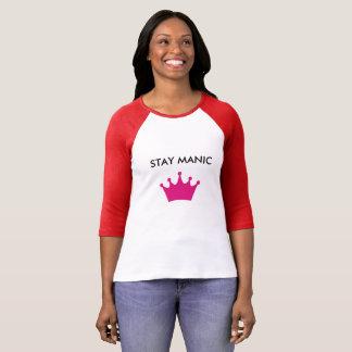 T-shirt Conscience bipolaire de soutien maniaque de séjour