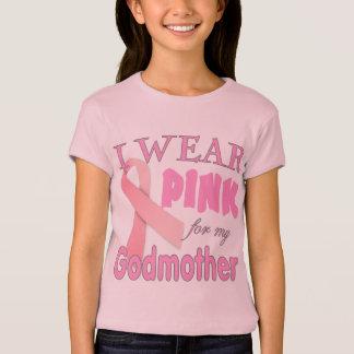T-shirt Conscience de cancer du sein pour la marraine