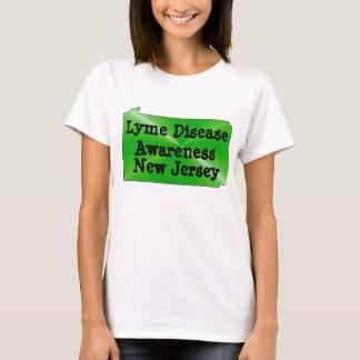T-shirt Conscience de la maladie de Lyme dans le New