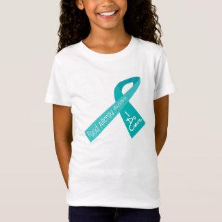 T-Shirt CONSCIENCE DE RUBAN D'ALLERGIE ALIMENTAIRE