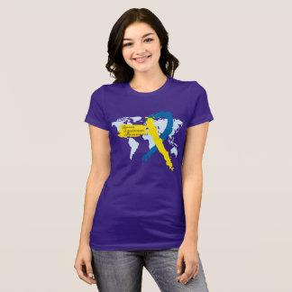 T-shirt Conscience de syndrome de Down du monde