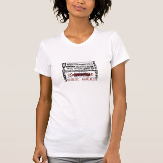 T-SHIRT CONSCIENCE DIABÉTIQUE