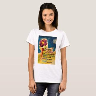 T-shirt Considérez les lis
