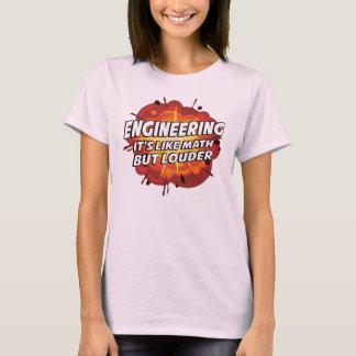 T-shirt Construction - elle est comme des maths mais plus