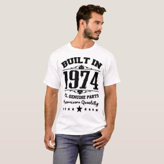 T-SHIRT CONSTRUIT EN 1974 TOUTE LA QUALITÉ VÉRITABLE DE
