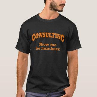 T-shirt Consultation/nombres