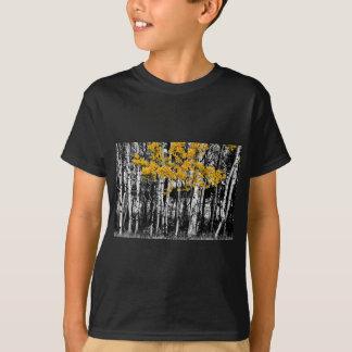 T-shirt Contact d'Aspen d'orange