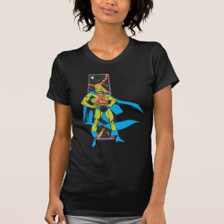 T-shirt Contexte martien de Manhunter et d'espace
