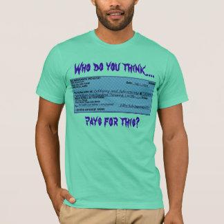T-shirt Contrôle d'assurance maladie