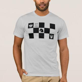 T-shirt Contrôle de chevalier noir