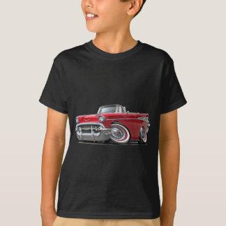T-shirt Convertible 1957 rouge de Chevy Belair