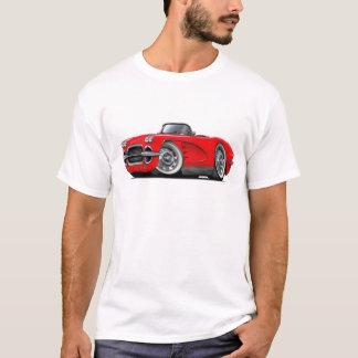 T-shirt Convertible 1962 rouge de Corvette