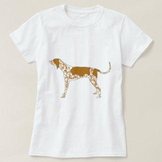 T-shirt coonhound de l'anglais américain