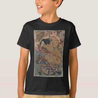 T-shirt Copie de gravure sur bois en Utagawa Kuniyoshi -