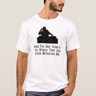 T-shirt Copie de trahison de musique