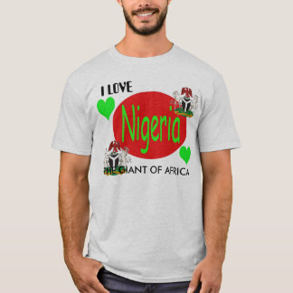 T-shirt Copie du NIGÉRIA, Nigeria_coa, Nigeria_coa,