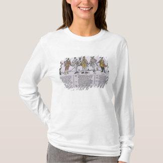 T-shirt Copie et examen des nations