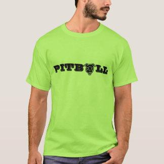 T-shirt Copie heureuse de logo de Pitbull - propriétaire