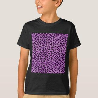T-shirt Copie pourpre de guépard