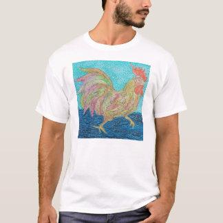 T-shirt coq courant