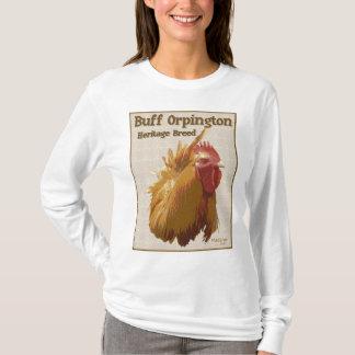 T-shirt Coq de couleur chamois d'Orpington