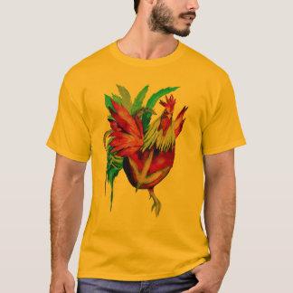 T-shirt Coq de Kung Fu