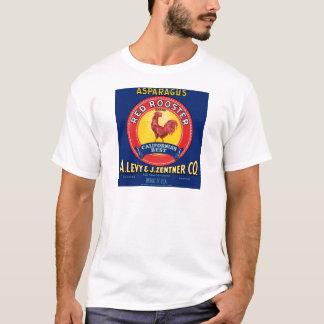 T-shirt Coq rouge