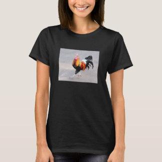 T-shirt Coq sur la route