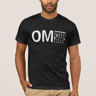 T-shirt Corde principale fraîche de la guitare G de