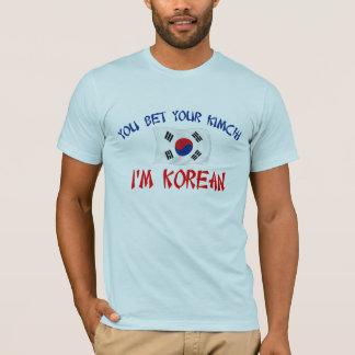 T-shirt Coréen Kimchi